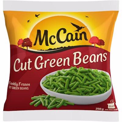 MCCAIN CUT GREEN BEANS 250G