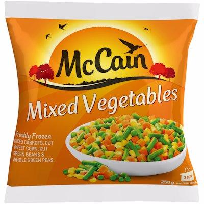 MCCAIN MIXED VEGETABLES 250GR