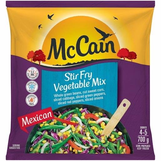 MCCAIN STIR FRY MEXICAN 700GR