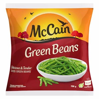 MCCAIN GREEN BEANS 750G