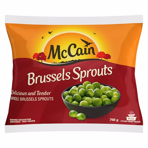 MCCAIN BRUSSEL SPROUTS 750GR