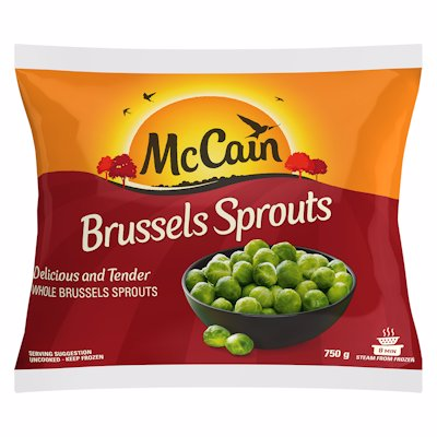 MCCAIN BRUSSEL SPROUTS 750G