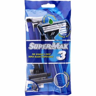 SUPERMAX MENS TRIPLE DISP 5'S