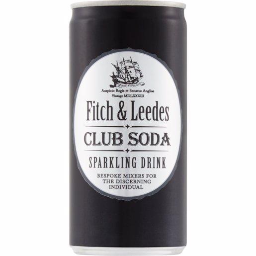 FITCH & LEEDES CLUB SODA 200ML