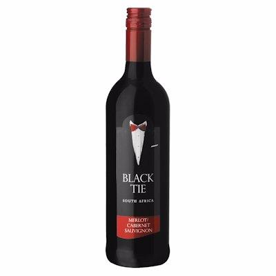 BLACK TIE MERLOT CABERNET SAUVIGNON 750ML