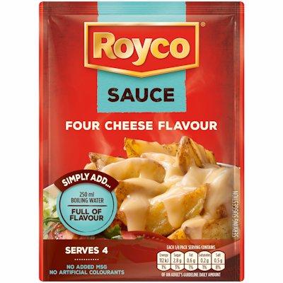 ROYCO PASTA SAUCE FOUR CHEESE FLAVOUR 38G