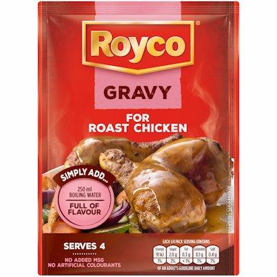 ROYCO GRAVY ROAST CHICKEN 32GR