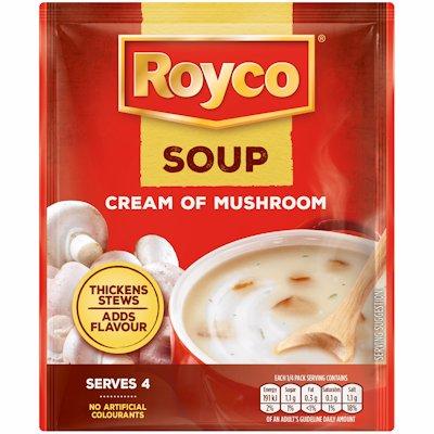 ROYCO SOUP CRM OF MUSHRM 50GR