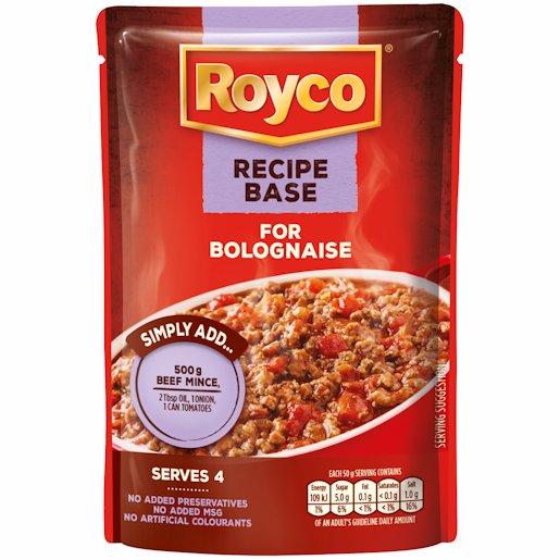 ROYCO P/BASE BOLOGNAISE 200GR