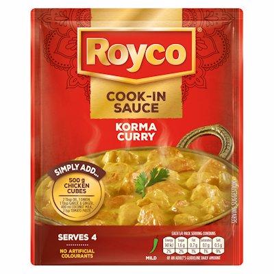 ROYCO COOK-IN SAUCE KORMA CURRY 41G