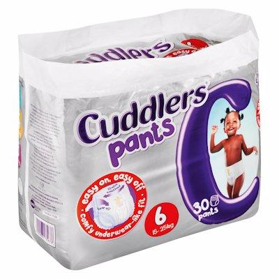CUDDLERS PANTS S6 30'S