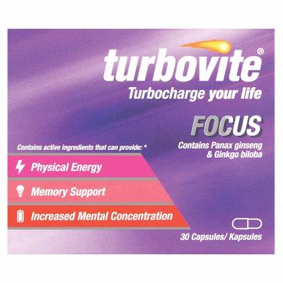 TURBOVITE FOCUS CAPSULES 30'S