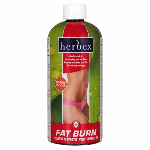 HERBEX F/BURN CON PEACH 400ML