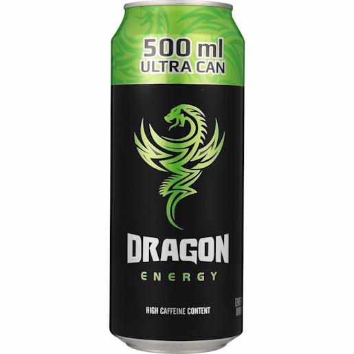 DRAGON E/DRINK GREEN 500ML