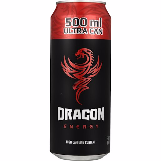 DRAGON E/DRINK RED 500ML
