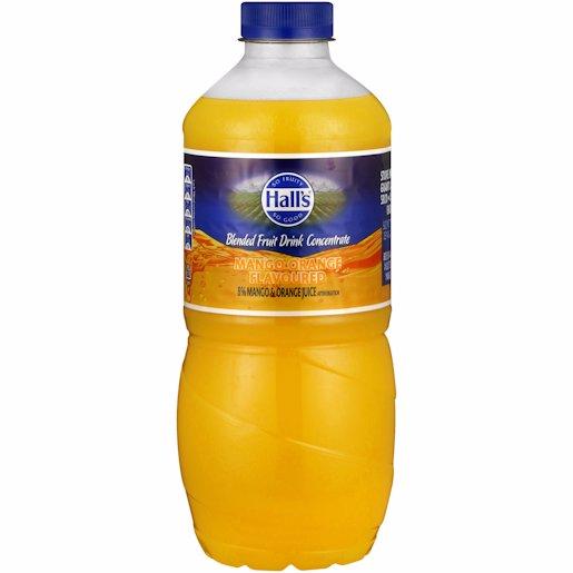 HALLS DAILY ORANGE/MANGO DRINK 1.25L