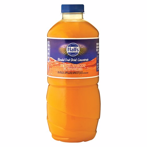 HALLS DAILY PEACH/APRIC DRINK 1.25L