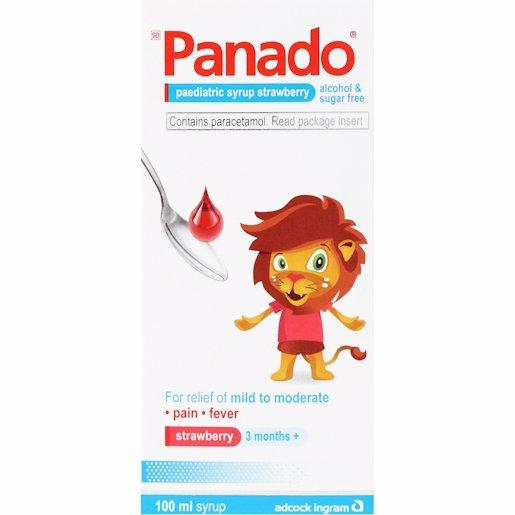 PANADO SYR STRAWBERRY 100ML