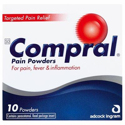 COMPRAL POWDER PAIN 10'S