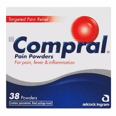 COMPRAL POWDER PAIN POWDERS 38'S
