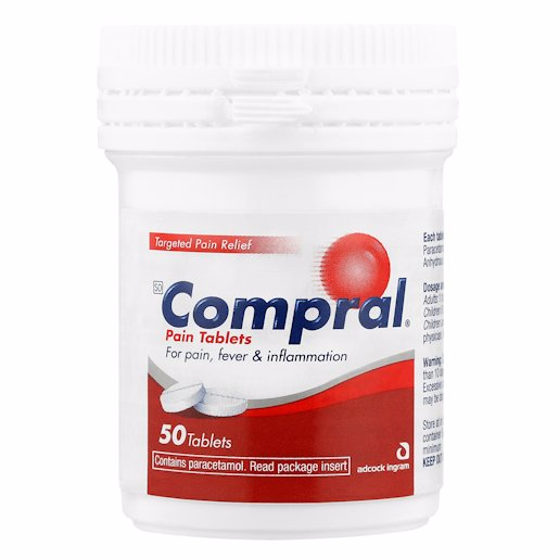 COMPRAL TABLETS PAIN 50'S