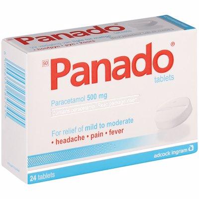 PANADO TABLETS 24'S