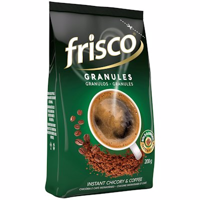 FRISCO INSTANT CHICORY & COFFEE GRANULES 200G