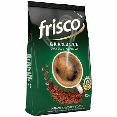 FRISCO INSTANT CHICORY & COFFEE GRANULES 500G