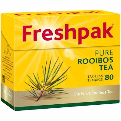 FRESHPAK ROOIBOS TAGLESS 80'S