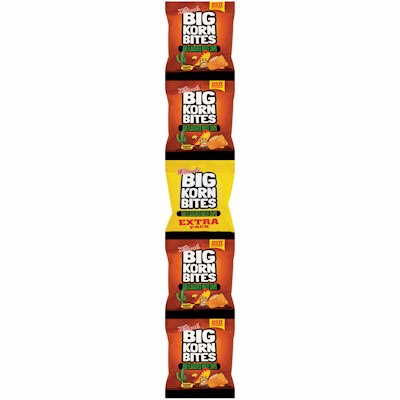 WILLARDS BIG KORN BITES BBQ FLAVOUR STRIP 5'S