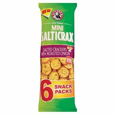 BAKERS SALTICRAX MINI ROAST ONION 198GR