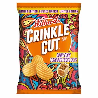 WILLARDS CRINKLE CUT BUNNY CHOW 125G