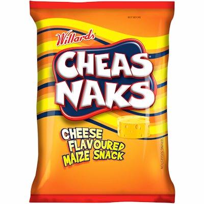 WILLARDS CHEAS NAKS CHEESE FLAVOUR 135G