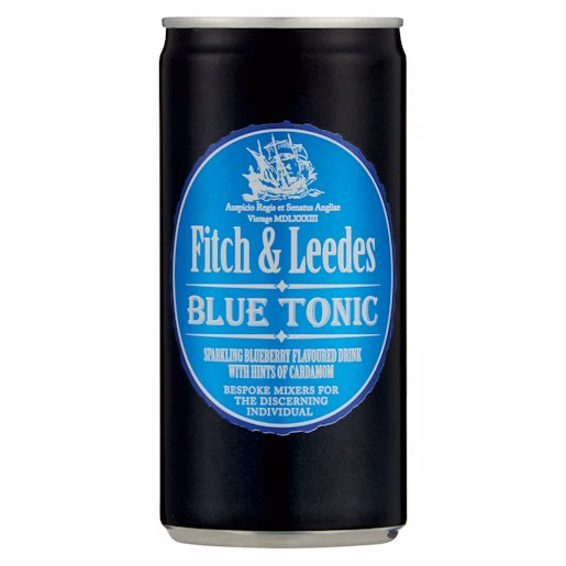 FITCH & LEEDES TONIC BLUE 200ML