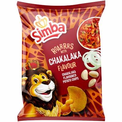 SIMBA CHIPS CHAKALAKA 120GR