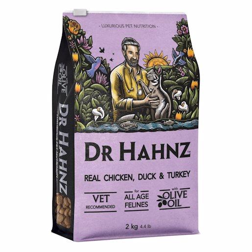 DR HAHNZ CAT CHIC&TURKEY 2KG