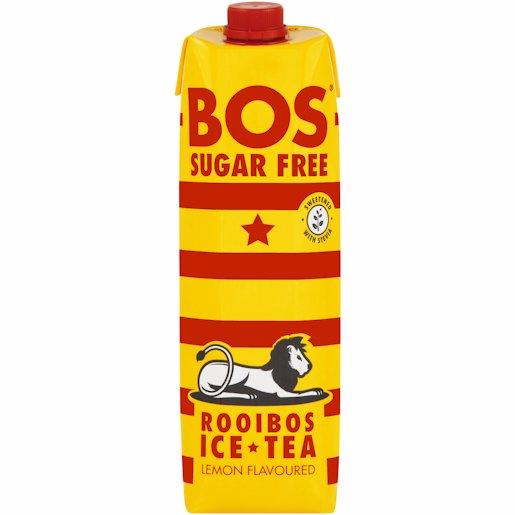 BOS ICE TEA LEMON S/FREE 1LT