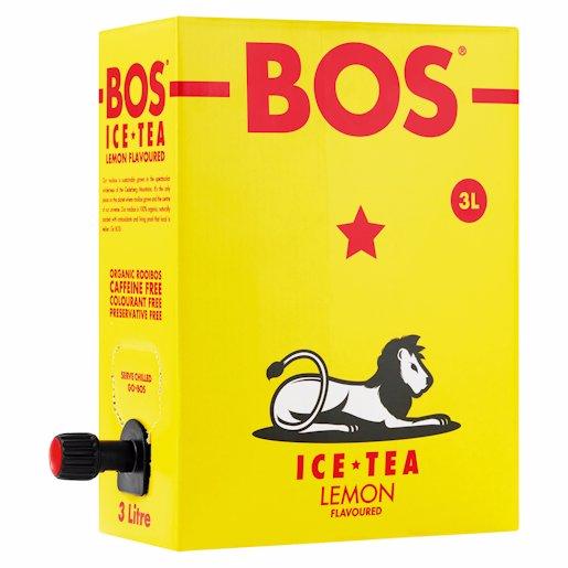 BOS ICE TEA LEMON 3LT