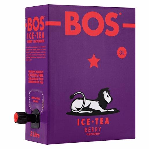 BOS ICE TEA BERRY 3LT