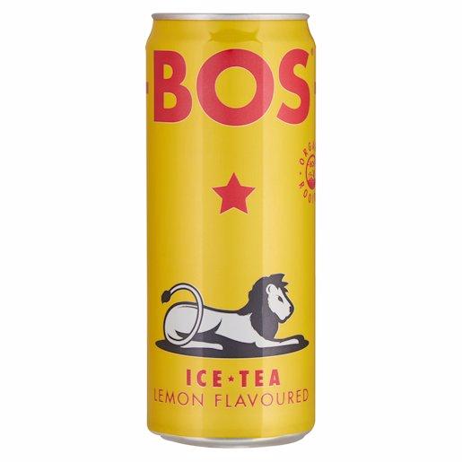 BOS ICE TEA LEMON 330ML