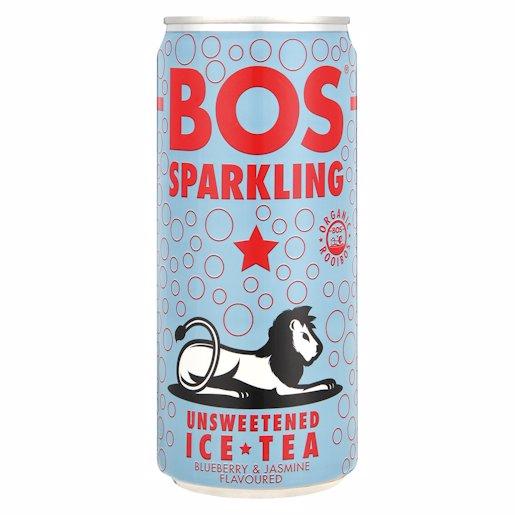 BOS ICE TEA B/BERRY&JASM 300ML
