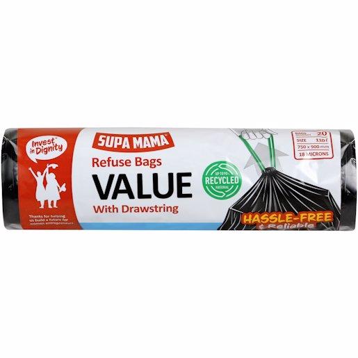 SUPA MAMA REF BAGS VALUE 20'S