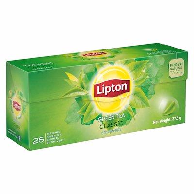 LIPTON GREEN TEA MINT 25'S