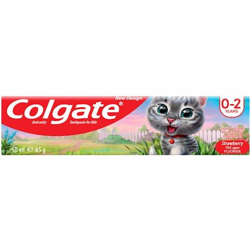 COLGATE T/P KID S/BER 0-2 50ML