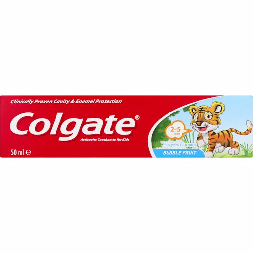 COLGATE T/P BUBBLEFRUIT 50ML