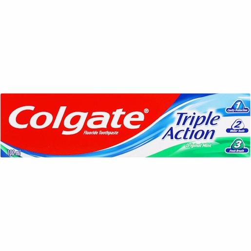 COLGATE TRIPLE ACTION 100ML