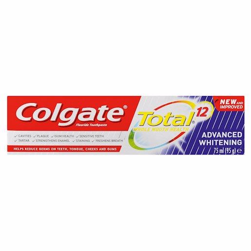 COLGATE T/P TOT WHITENING 75ML