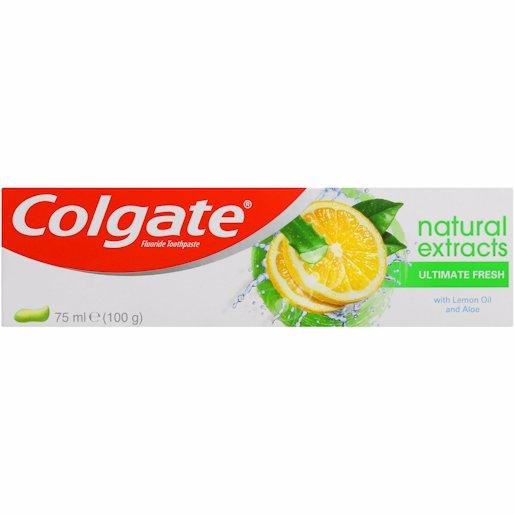 COLGATE T/P NAT GRN FRUIT 75ML
