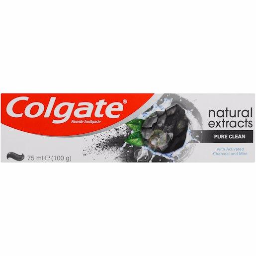 COLGATE T/P NAT CHARCOAL 75ML