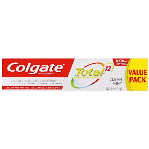COLGATE T/P TOT CLN MINT 150ML
